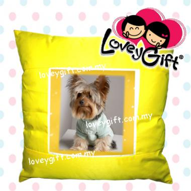 Photo Cushion - Yellow
