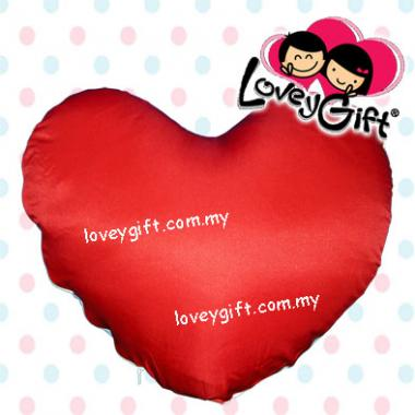 Photo Cushion - Love Shape(Red)
