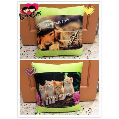 Personalized Suede Pillow