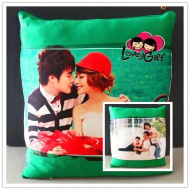 Personalized Thick Satin Pillow