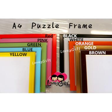 A4 Puzzle Frame - 10 color