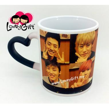 Personalized Photo Love Magic Mug