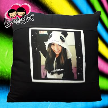 Photo Cushion - Black